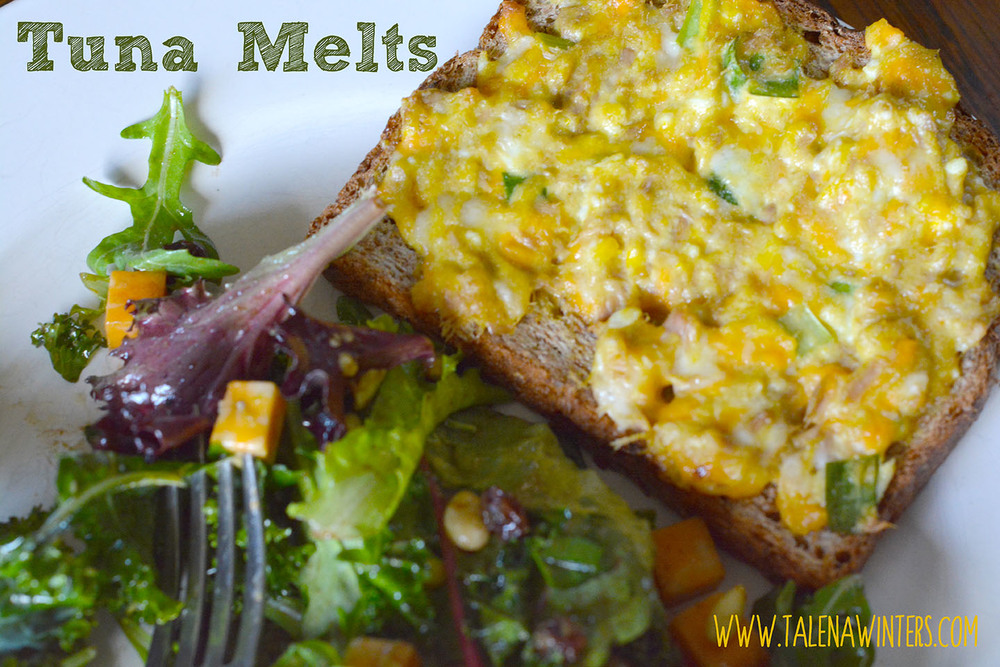 Super-yummy, nutritious and easy Tuna and Cheese Melts are a hit even with the fish-hater in my family!