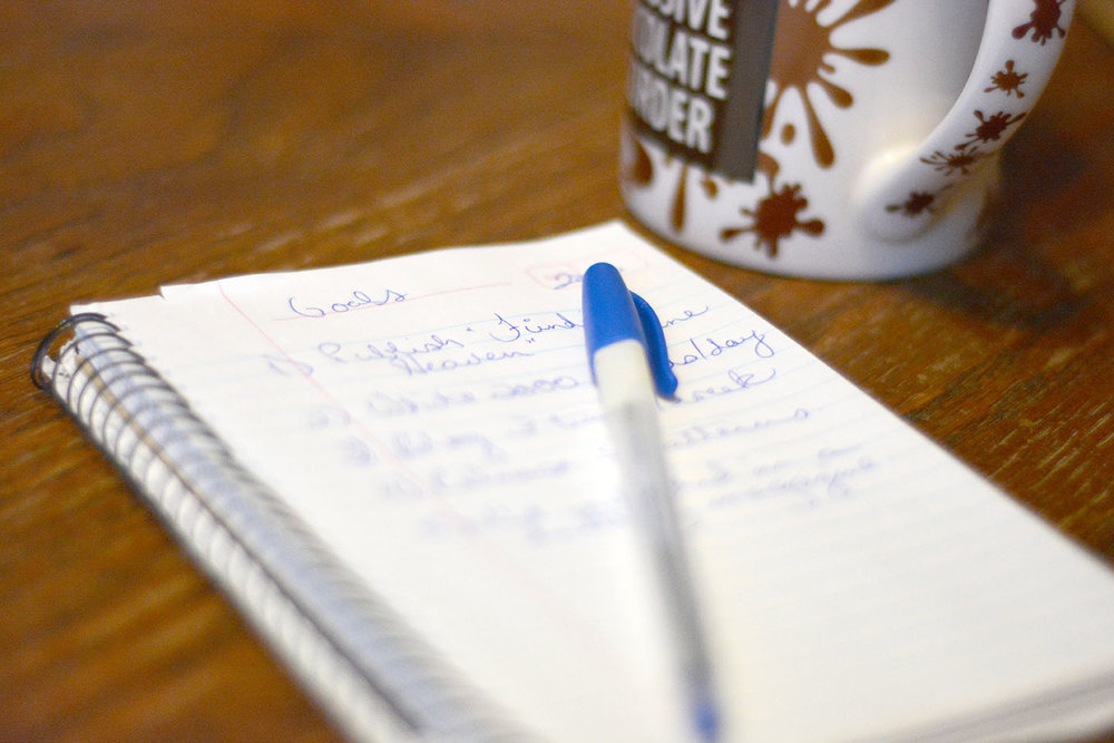 Lists can be for broad goals, but your daily to-dos need to be for specific steps.