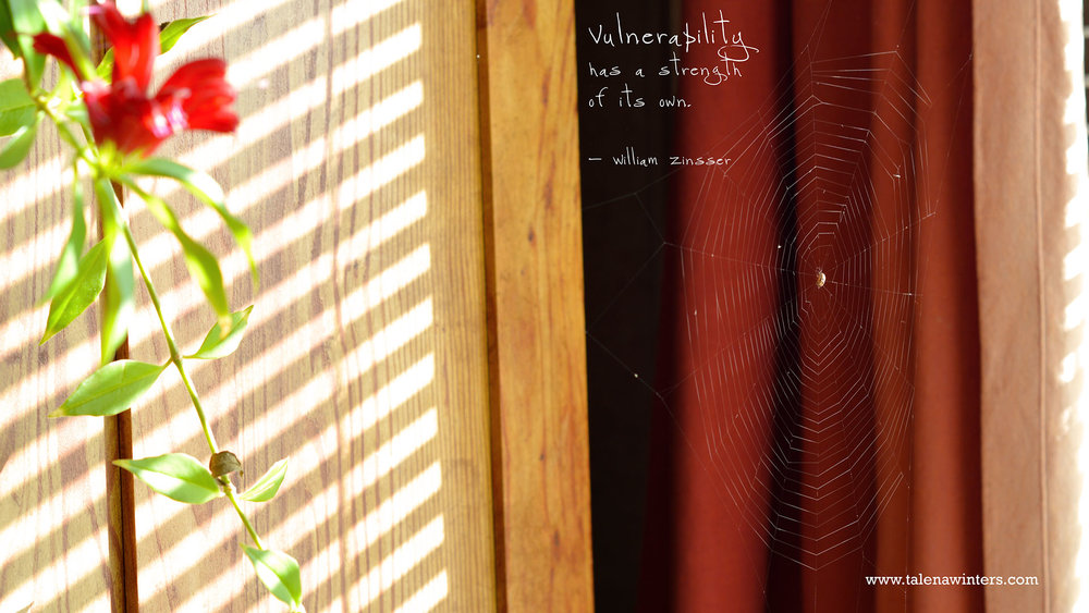 """Vulnerability has strength"" desktop wallpaper, 1920x1080 resolution. Find more free inspirational desktop wallpapers at  www.talenawinters.com/desktop-wallpapers ."