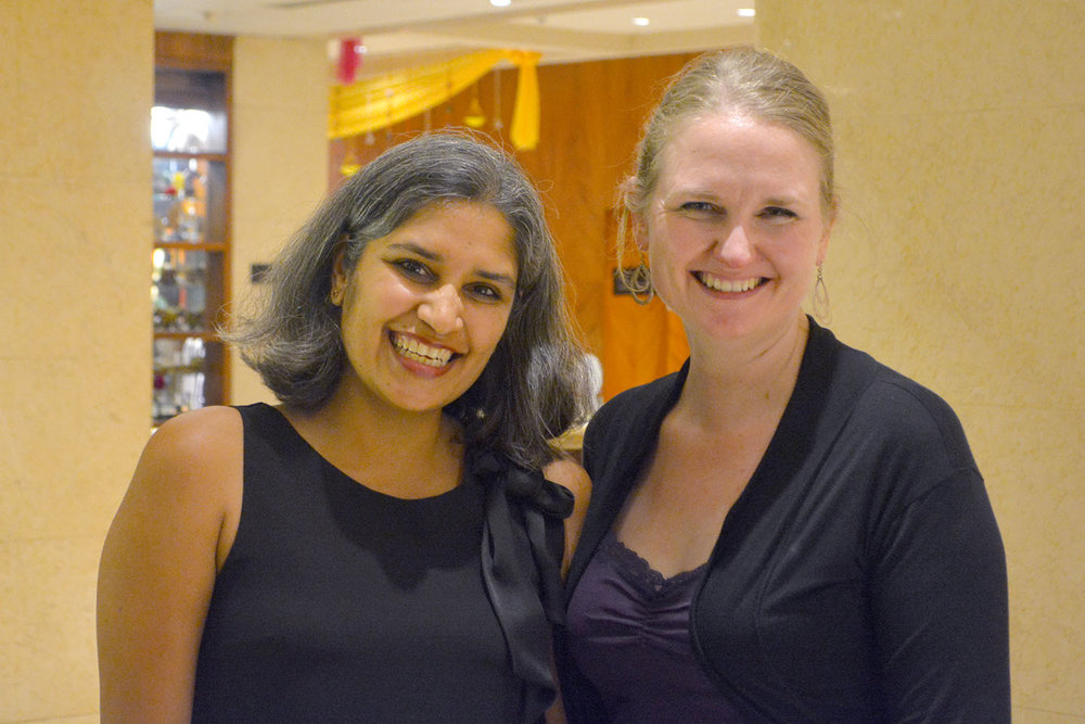 Cool things about the Internet--I finally got to meet my long-time online friend Rohini, whom I have known since 2006 because of her blog Mama Says So.