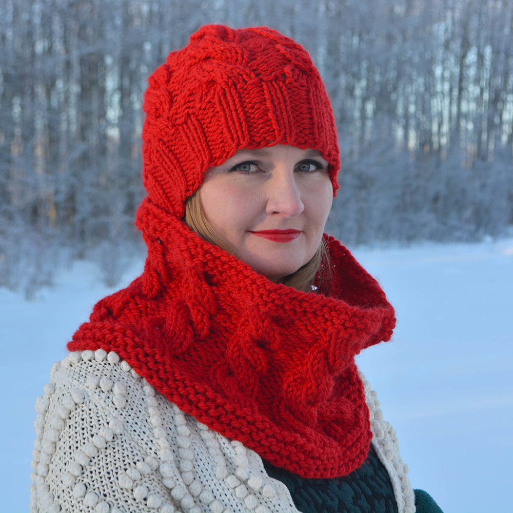 Transcendence Cowl with The OA Beanie