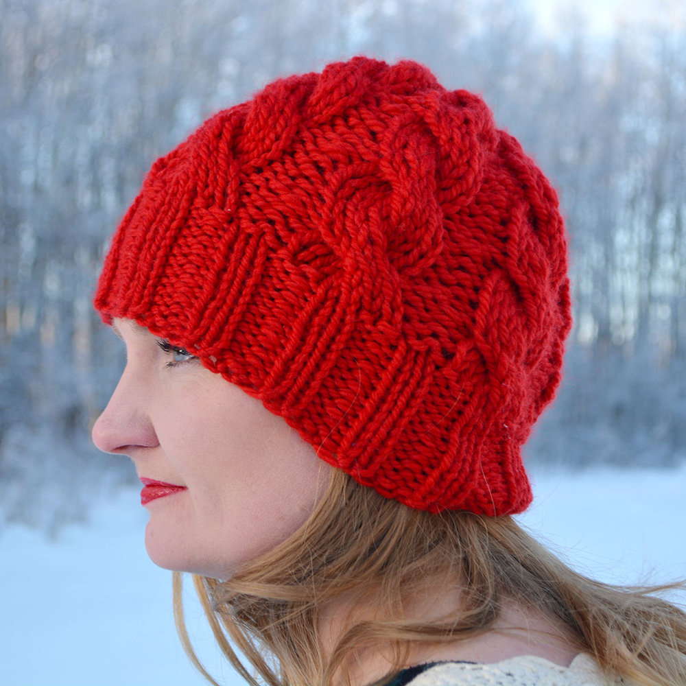 The OA Beanie, side view