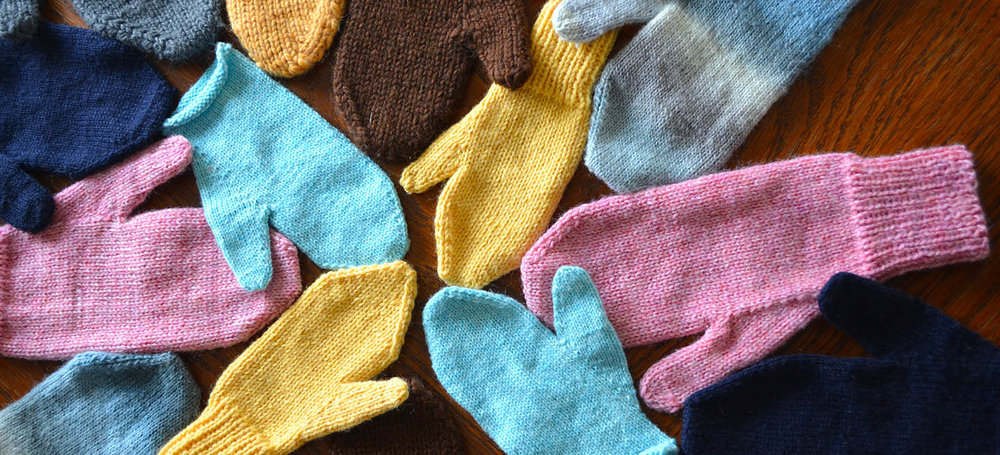 New Knitting Pattern   Just Plain Mittens    See More