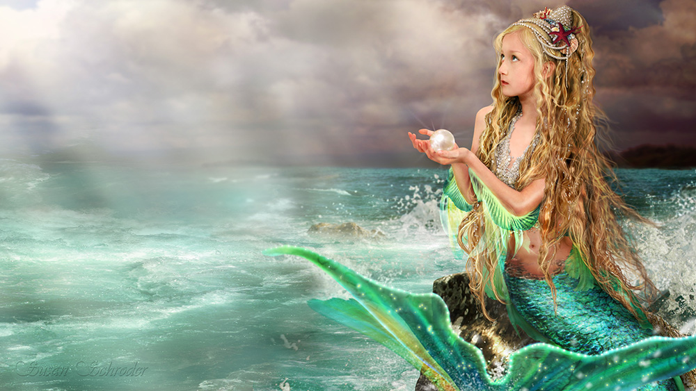 Digital painting by the amazing Susan Schroder, whom I have already decided will be the graphic artist designing the covers of my mermaid novels. Image used by permission. (Available from her website:  http://susanschroder.com/ )
