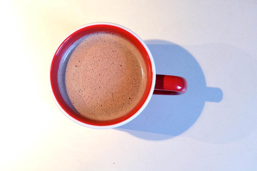 Voila ! Dairy-Free Hot Chocolate!