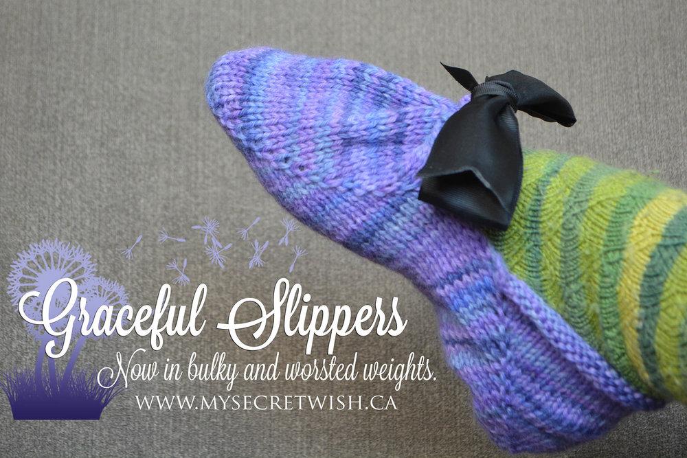 Graceful Slippers by mysecretwish.ca