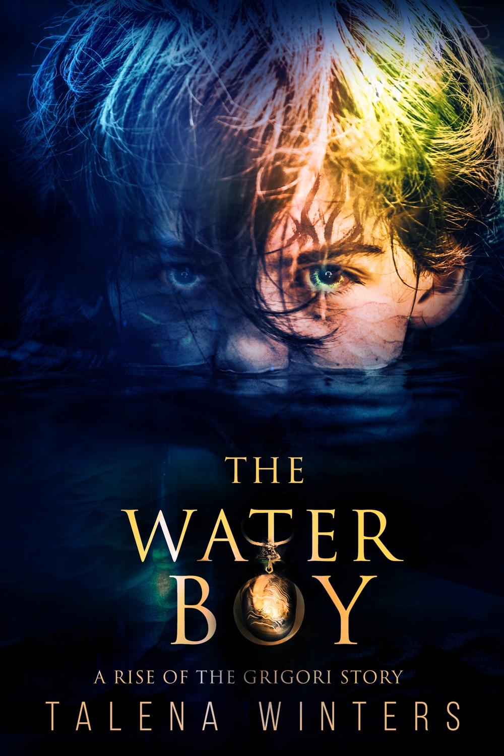 Where do you hide from yourself?    Zale Teague grew up thinking he was an ordinary boy—until the day he called lightning from the skies and caused an explosion with horrific results. Now, at only eleven, he is on the run to protect his loved ones from disaster. But can he ever outrun the demon within?    The Waterboy   is a prequel novella to the thrilling new young adult fantasy series  Rise of the Grigori . Free to newsletter subscribers. Learn more at  www.talenawinters.com/waterboy .