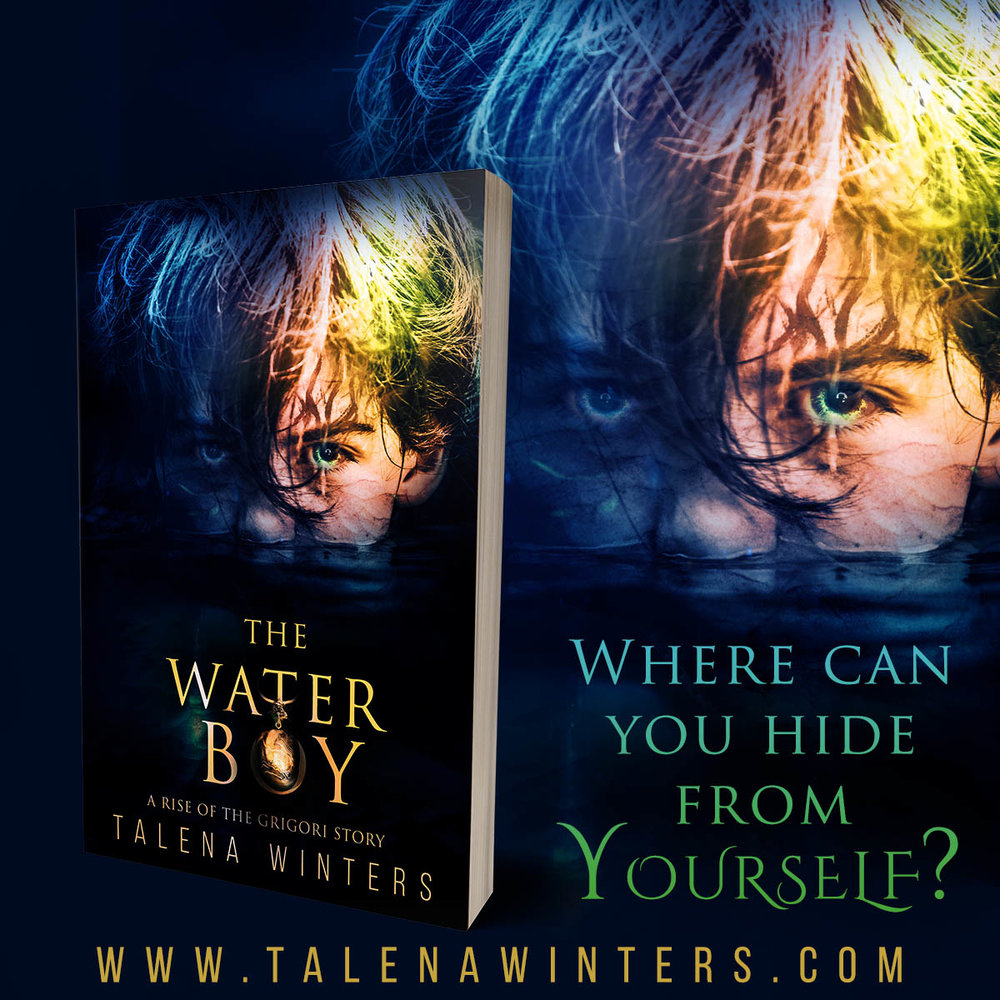 Where do you hide from yourself?    Zale Teague grew up thinking he was an ordinary boy—until the day he called lightning from the skies and caused an explosion with horrific results. Now, at only eleven, he is on the run to protect his loved ones from disaster. But can he ever outrun the demon within?   The Waterboy  is a prequel novella to the thrilling new young adult fantasy series  Rise of the Grigori . Free to newsletter subscribers.  www.talenawinters.com/waterboy
