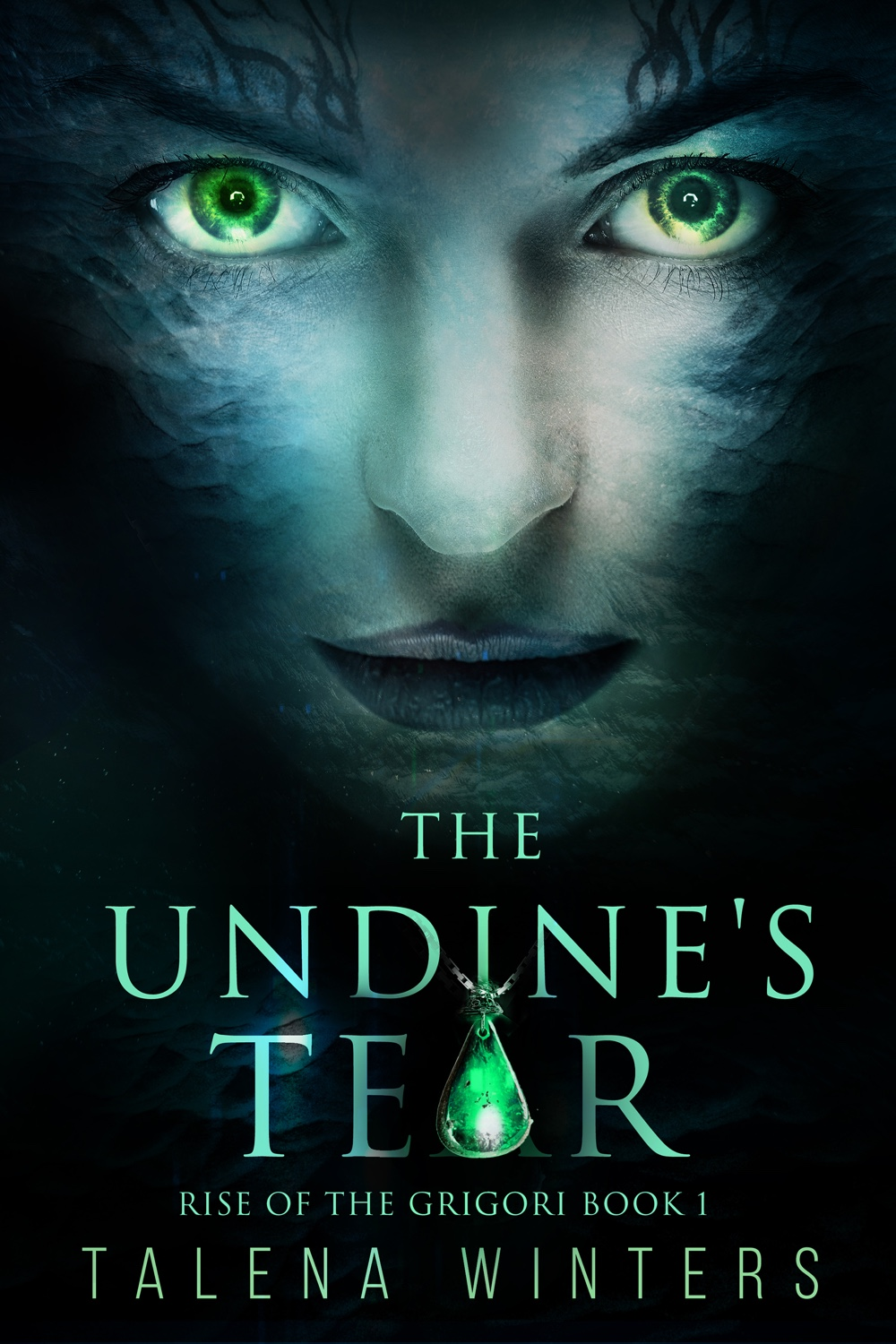 She was raised to save her people—as long as she doesn't go crazy and kill them all first. Young adult science fantasy   The Undine's Tear   by Talena Winters.