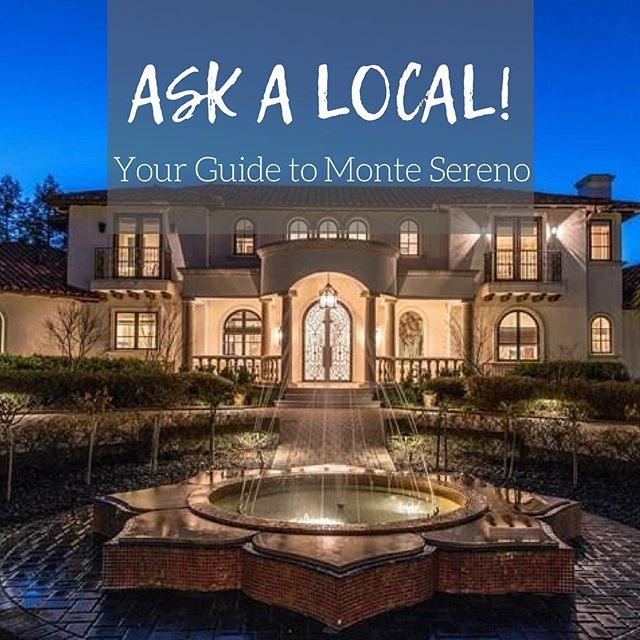 Looking to move? Check out my latest 'Ask A Local' segment on Monte Sereno. • LINK IN BIO •