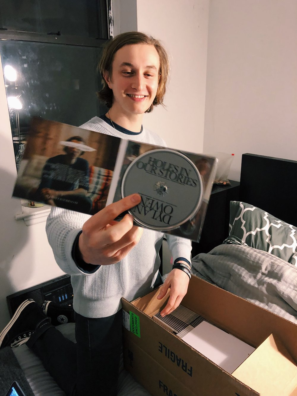 Dylan Owen Holes In Our Stories CDs