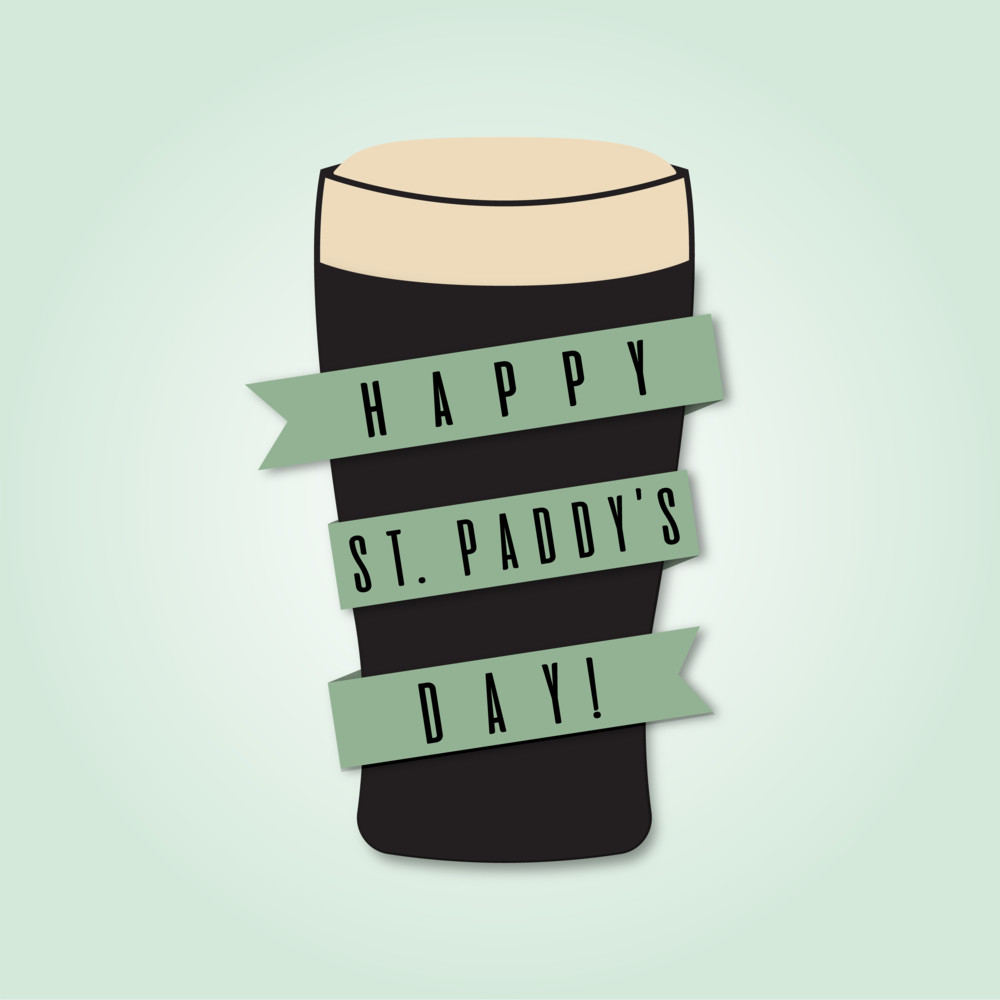 Happy St. Paddy's Day!