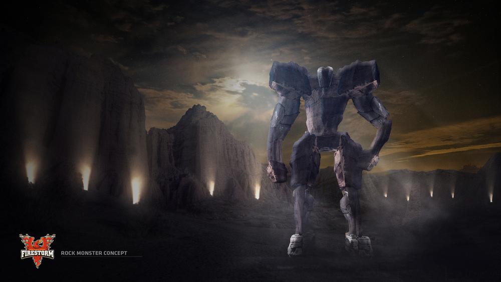 FIRESTORM FOOTBALL %22Training Grounds Rock Monster Concept With Enviroment.jpg