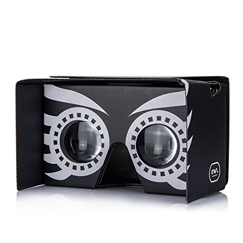 We over-nighted the Google-Cardboard-Approved Owl.