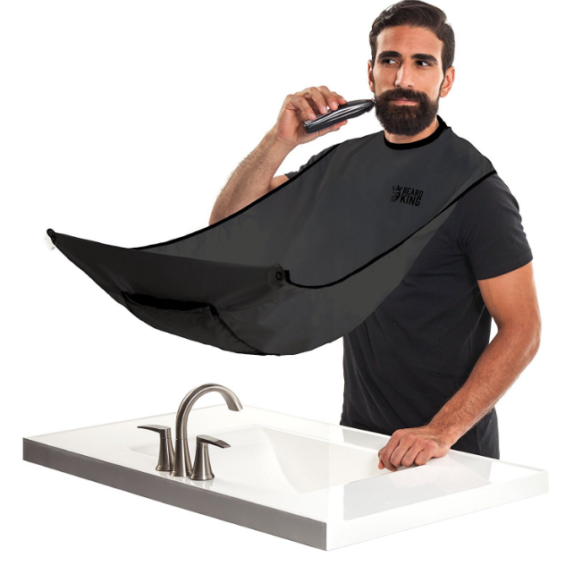 Below: Product being demonstrated by a model.