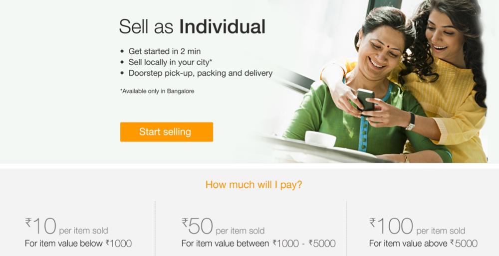 Amazon India Used Item Marketplace