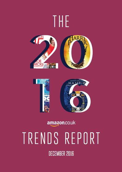 Amazon UK 2016 trends report