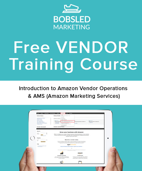 Free Amazon Vendor Training Course Bobsled Marketing