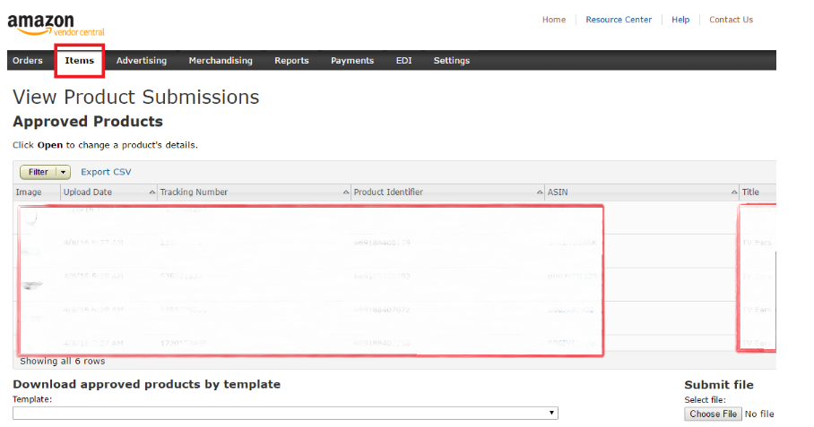 view product submissions dashboard - bobsled marketing.png