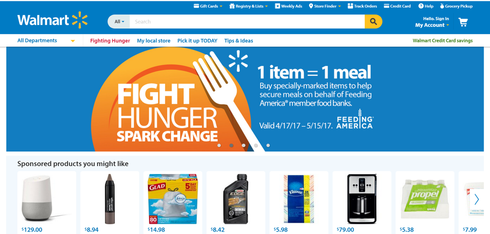 Walmart ups the game with a new discounting program