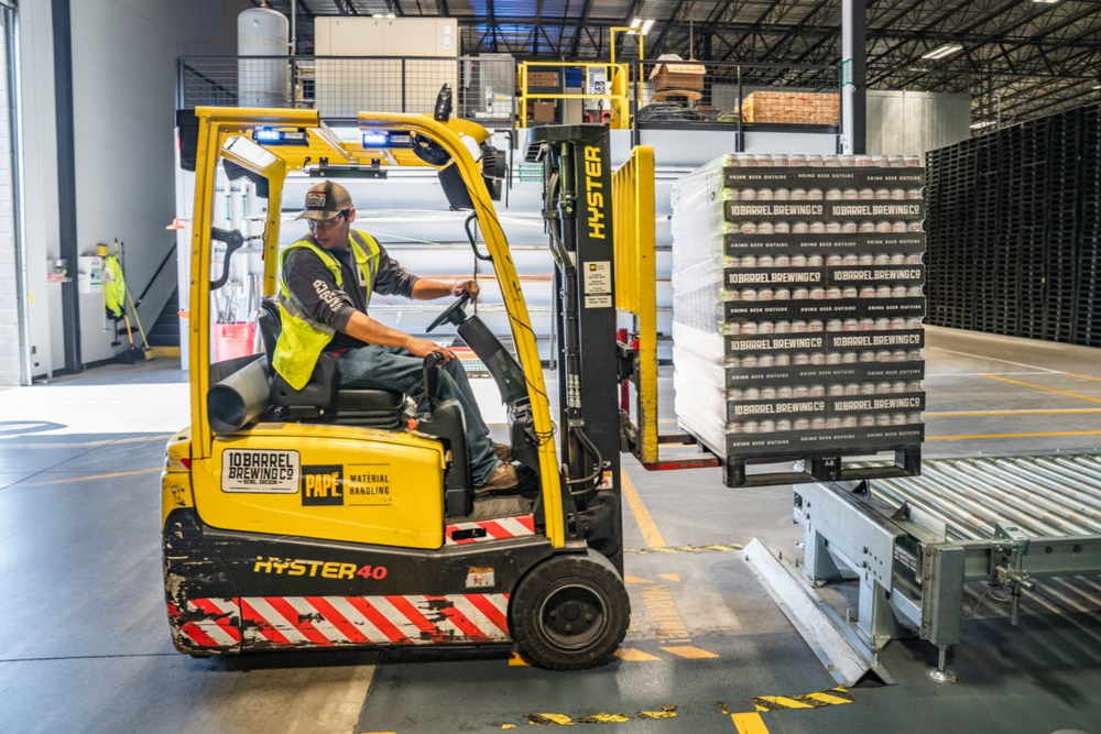 Image:  https://www.pexels.com/photo/person-using-forklift-1267338/