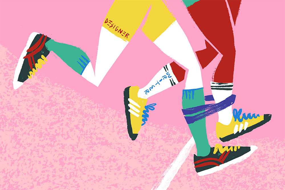 Illustration for the Sex, Drugs & Helveticaarticle;'Why You Should Hire A Copywriter.'