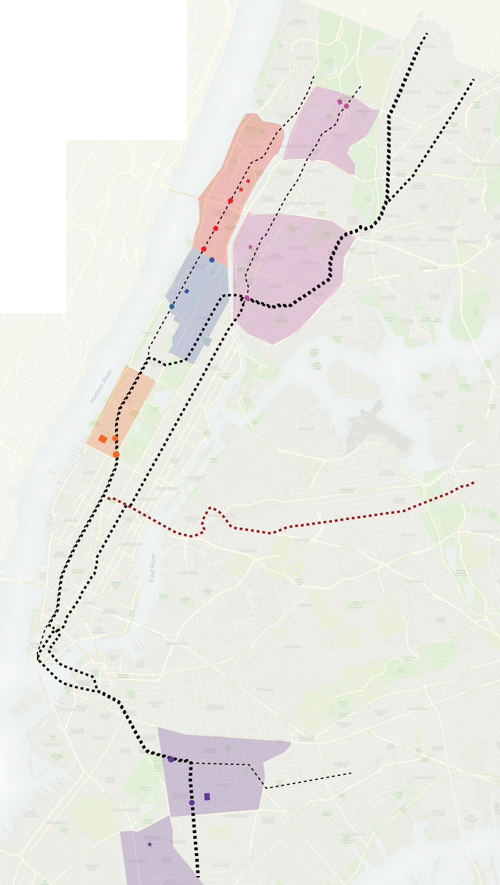 3.2. Addition of Queens line to Graffiti City