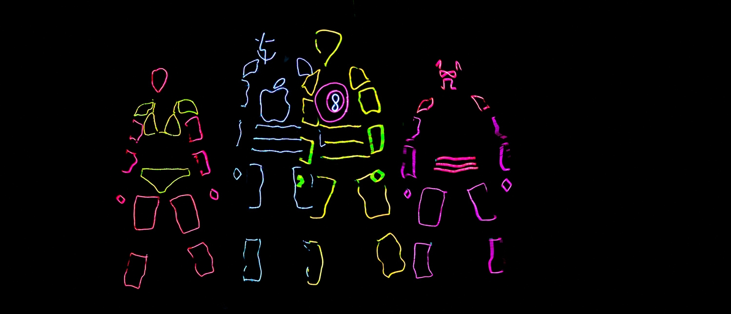 jonathan sun: Arduino-controlled EL-wire Lightsuits, for Skule Nite 1T2