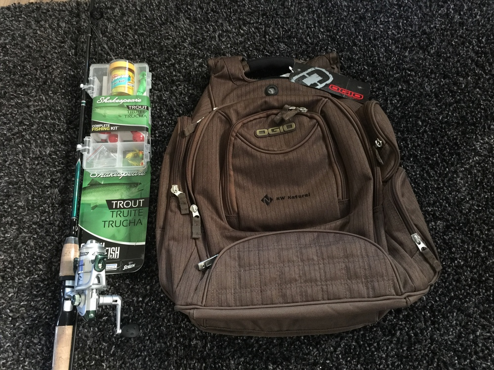 Fishing Combo, NW Natural backpack