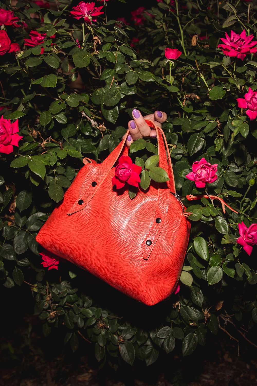 Saint Catello Bowler Bag Coral Angeliea.jpg