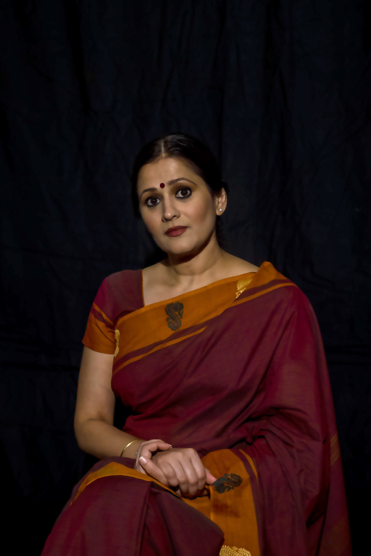 Sindu Singh plays Malini in  FREE OUTGOING. PC: Swagato Basumallick