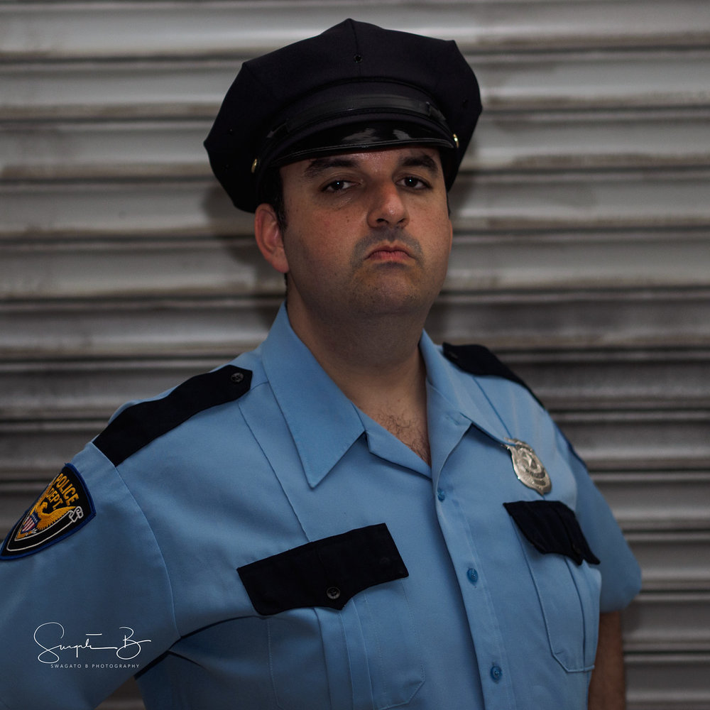 François-Fabien Ferhani as Officer Alex Martin – enemy or protector?
