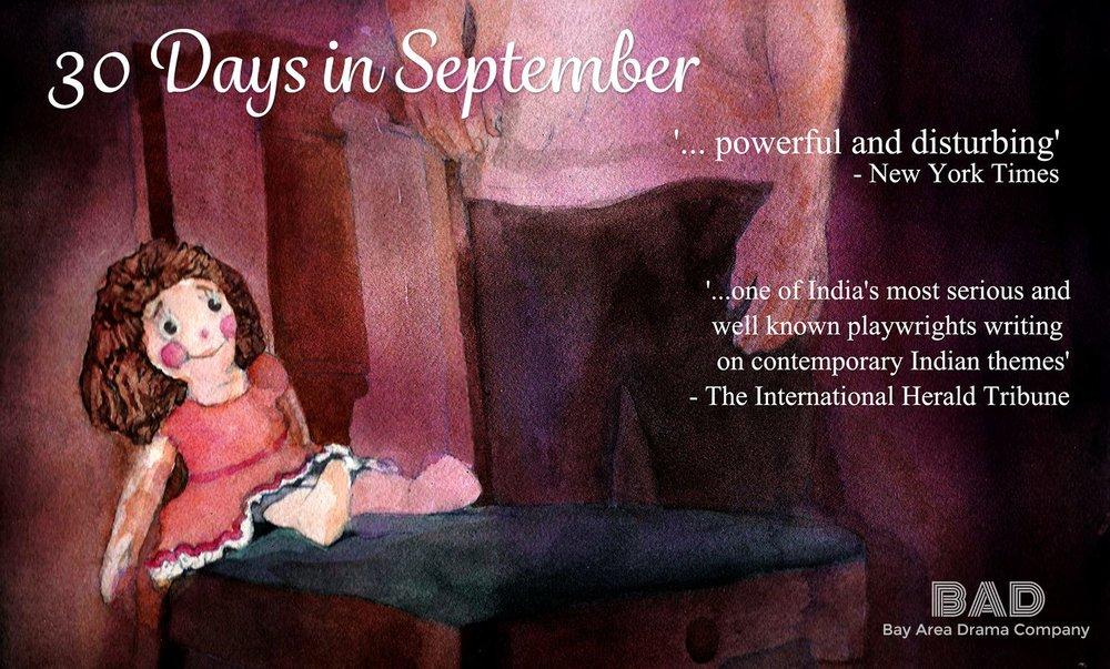 30 Days in September, August 2015