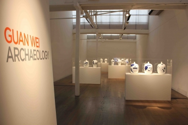 Guan Wei,  Archaeology  (Installation view), ARC ONE Gallery, 2014