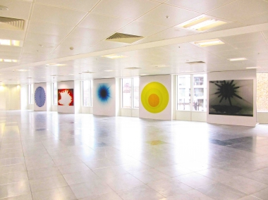 Nike Savvas,  Sparks  (installation view), 2014, Howick Place, London.