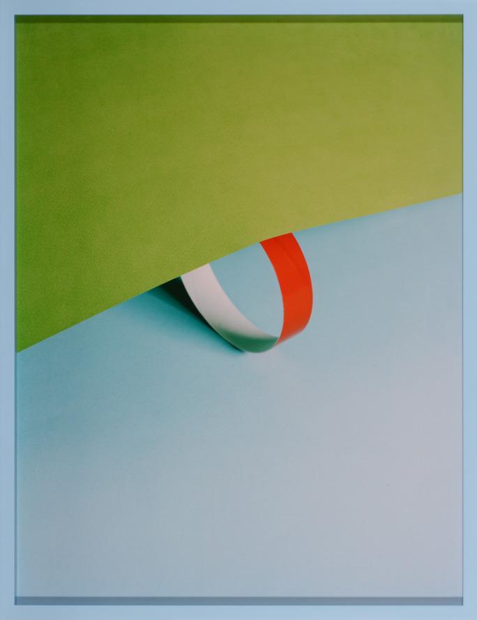 LYDIA WEGNER     Green Rise  2014 Archival Inkjet Print 74 x 57 cm
