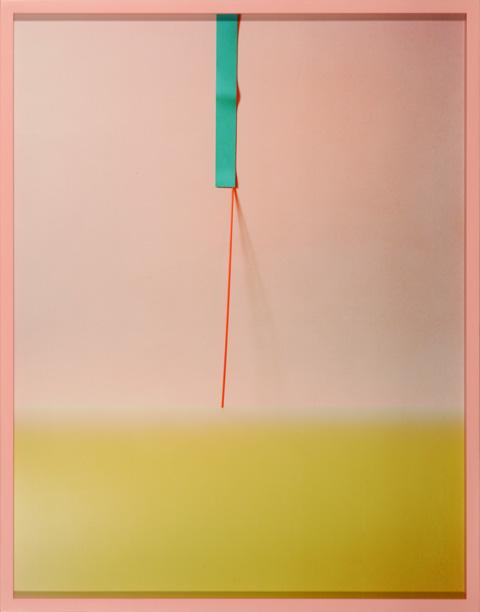 LYDIA WEGNER     Sticky Flat  2014 Archival Inkjet Print 84 x 65 cm