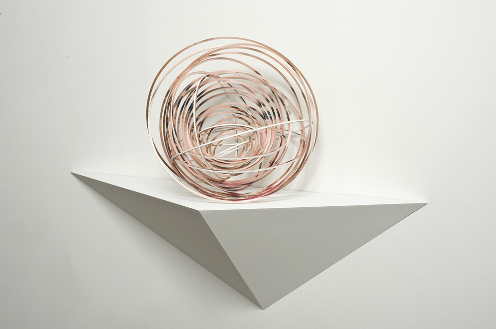 JUSTINE KHAMARA     Orbital spin trick #3  50 x 50 cm UV print on laser-cut, plywood sculpture