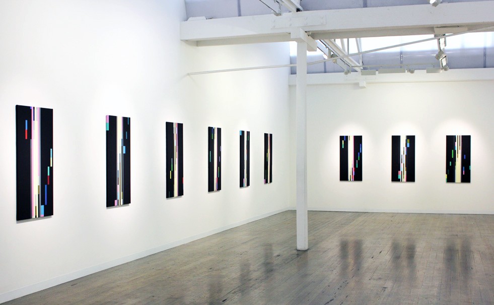 ROBERT OWEN     Fallen Light , Installation view 2012