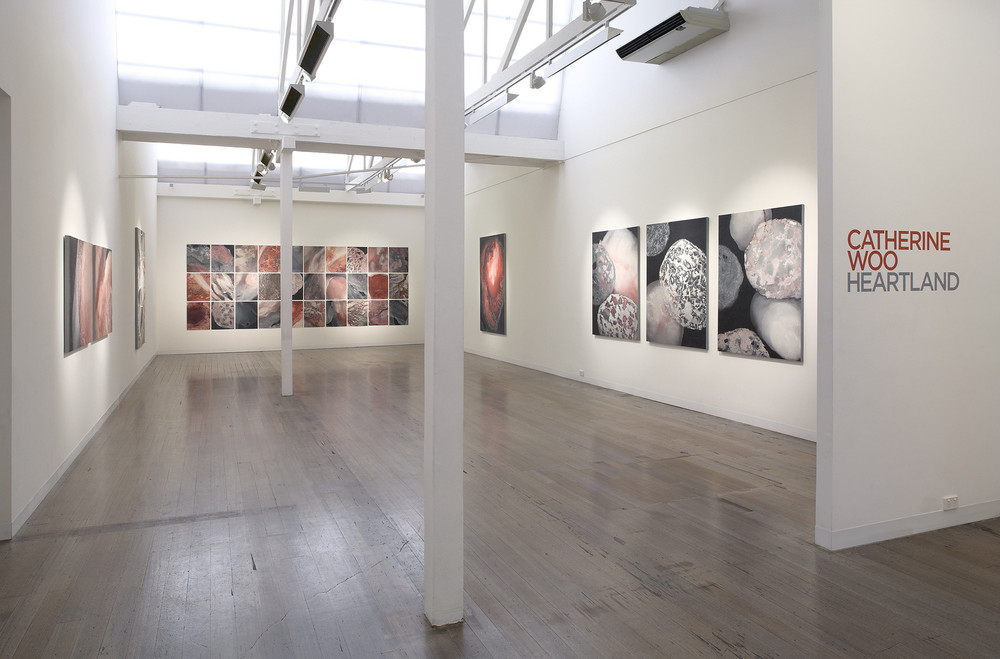 CATHERINE WOO   Heartland , 2011, Installation view