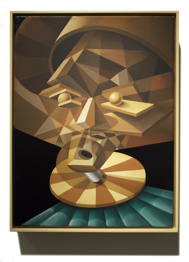 PETER DAVERINGTON     Head of a Dervish  2011 Oil on canvas 43 x 33 cm