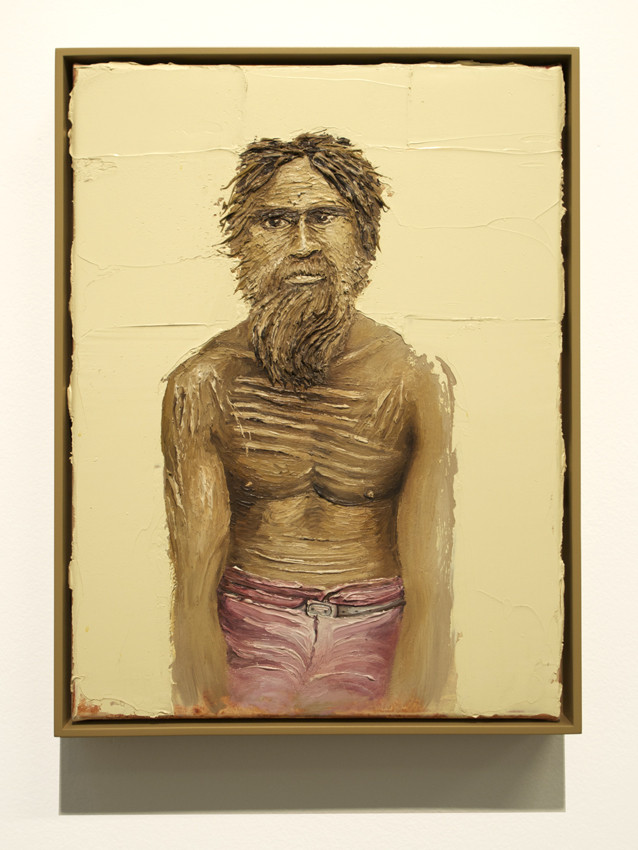 PETER DAVERINGTON     The Last Australian  2011 Oil on canvas 43 x 33 cm