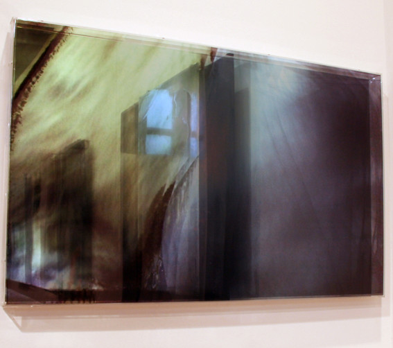 JANET LAURENCE     vanishing series / yearning / haze X  2010 Duraclear, Mirror    70 x 50 cm