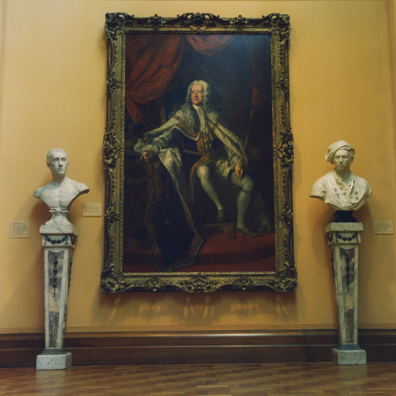 ANNE ZAHALKA     National Portrait Gallery #5, London  2010 Type C Photograph, Edition of 5   80 x 80 cm