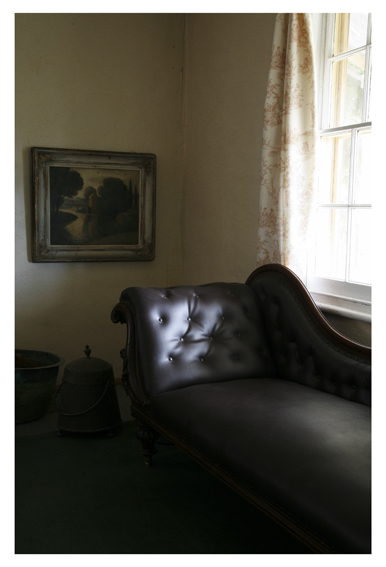 ANNE ZAHALKA     Haefliger's Cottage, Interior #4  2010 Type C Photograph   30 x 20 cm