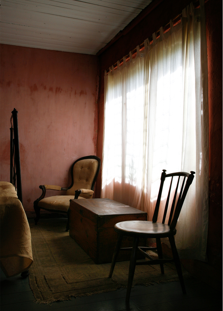 ANNE ZAHALKA     Haefliger's Cottage, Interior #7  2010 Type C Photograph   30 x 25 cm