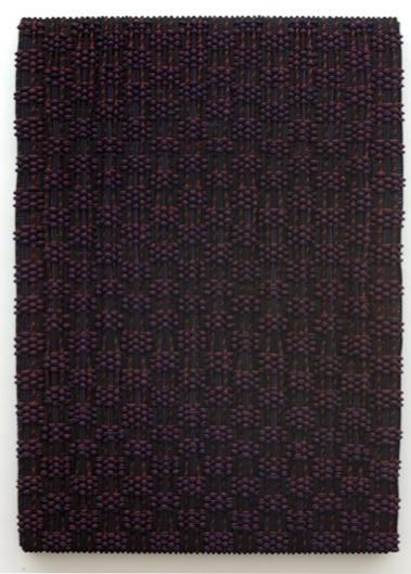 DANI MARTI    Braveheart (take 2)    2007   Polyester /Polypropylene / nylon rope/ wood 200 x 145 cm