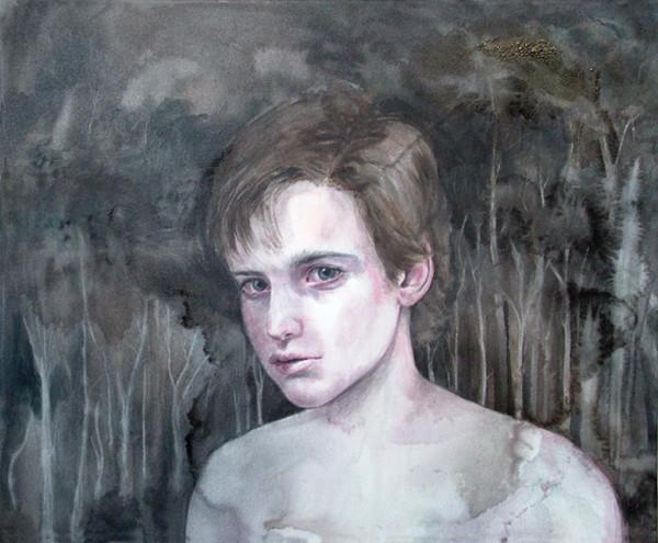 CHERRY HOOD    White Boy  2006 90 x 73 cm oil on canvas