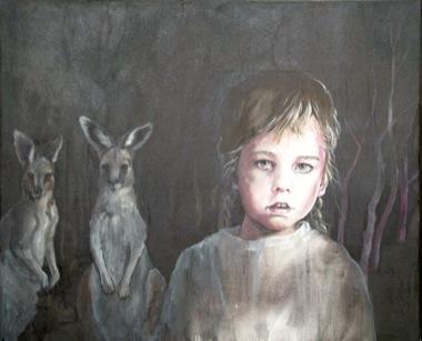 CHERRY HOOD    Playmates    2005/06   120 x 100 cm   Oil on Canvas