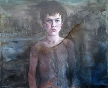 CHERRY HOOD    Shadow Play    2006   120 x 100 cm   Oil on Canvas